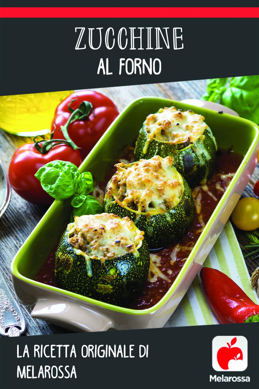 zucchine al forno ricetta di Melarossa