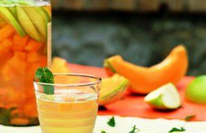 Acqua detox al melone