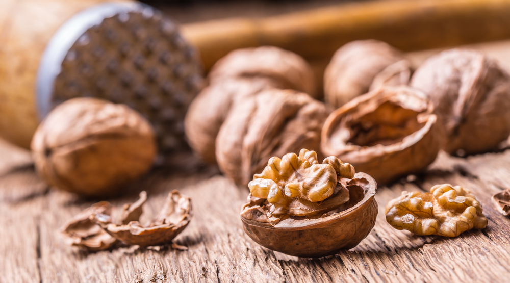 alimenti ricchi di magnesio: noci