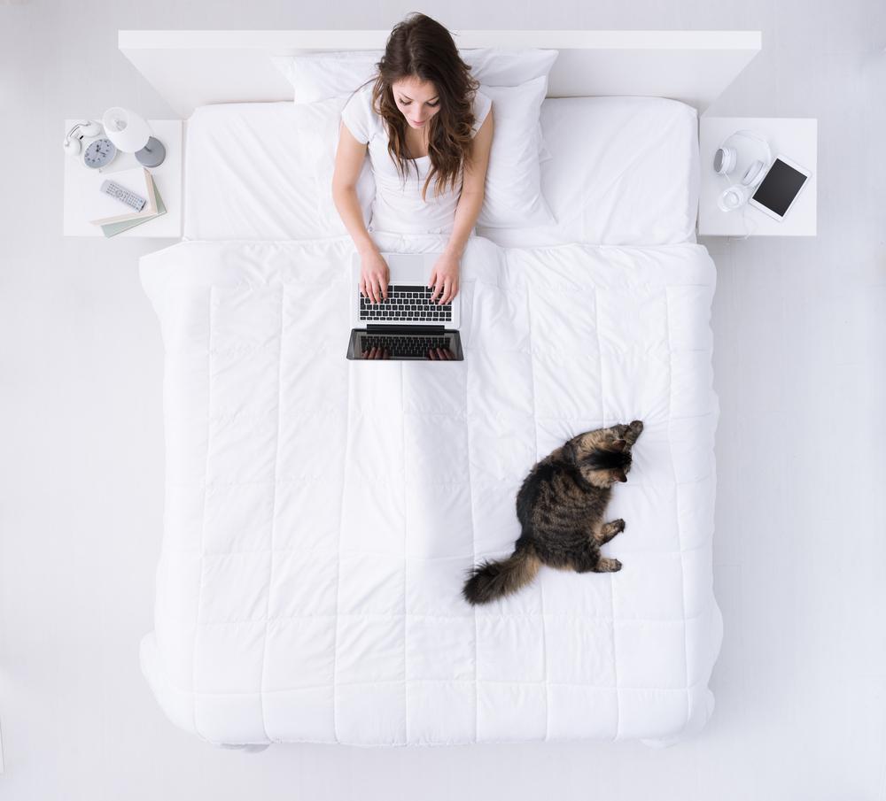 dormire bene: camera da letto senza rumore