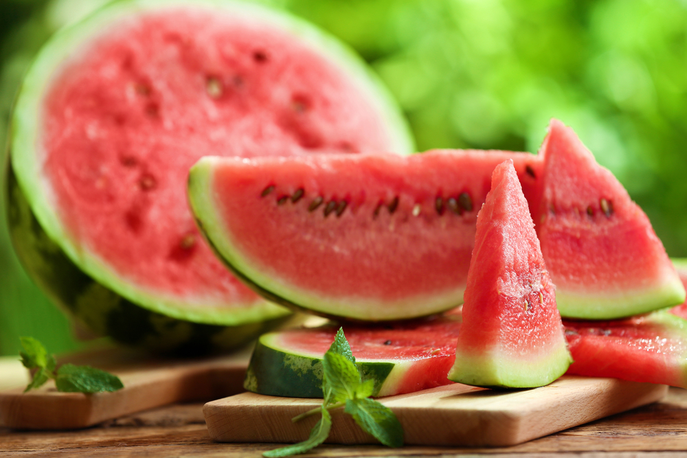 la frutta di giugno, l'anguria