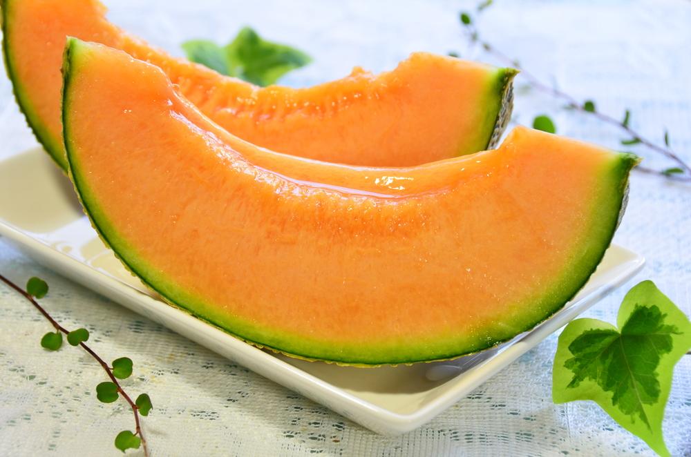 la frutta di giugno, melone
