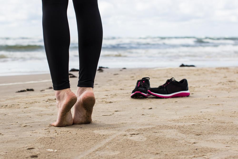 ginnastica per piedi e caviglie in forma