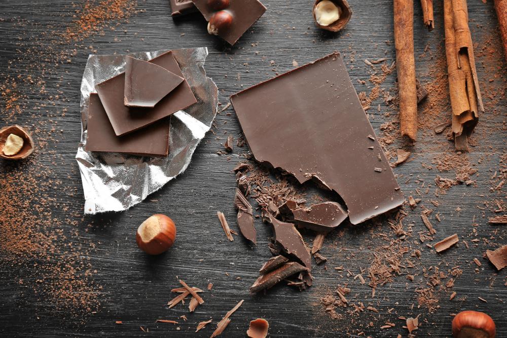 alimenti ricchi di magnesio: cioccolato fondente