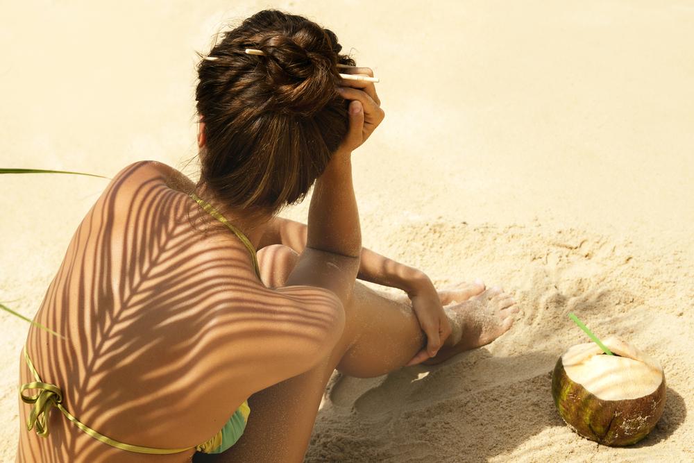 Pelle flaccida: abbronzatura