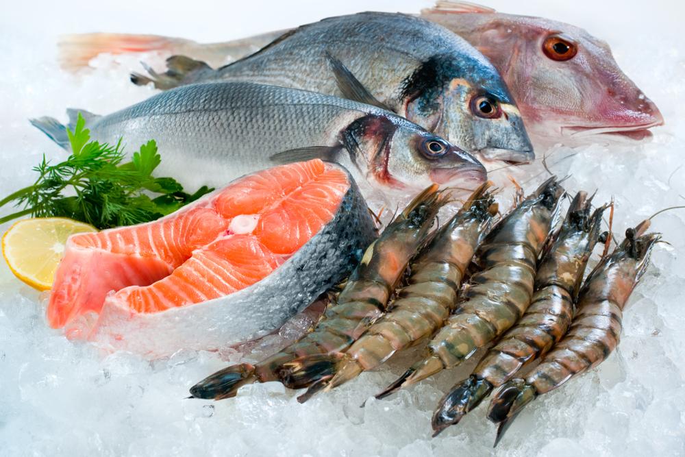 riconoscere il pesce fresco in pescheria