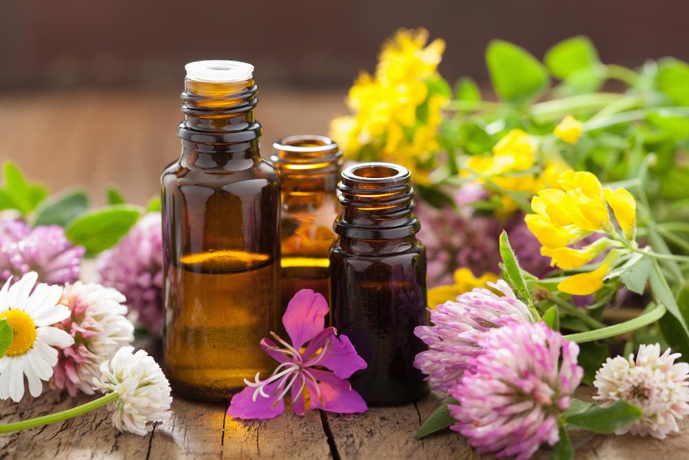 benefici tisane e  oli essenziali