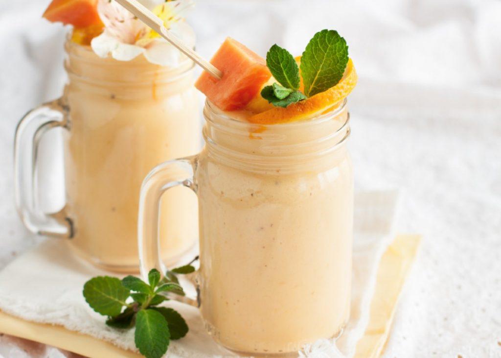 smoothie con pompelmo e papaya: la ricetta