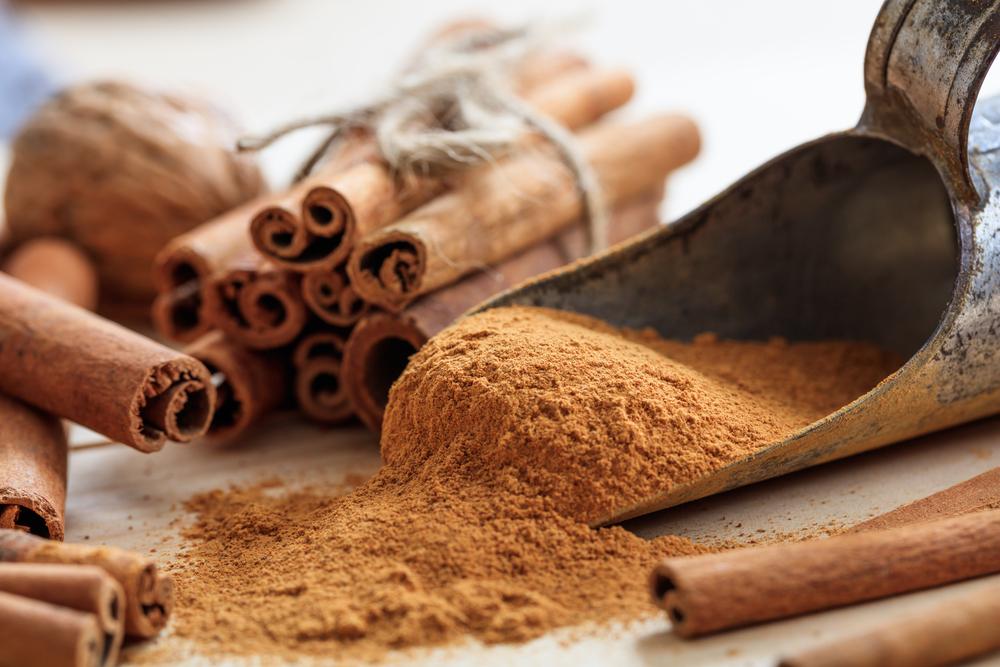 spezie brucia-grassi: la cannella