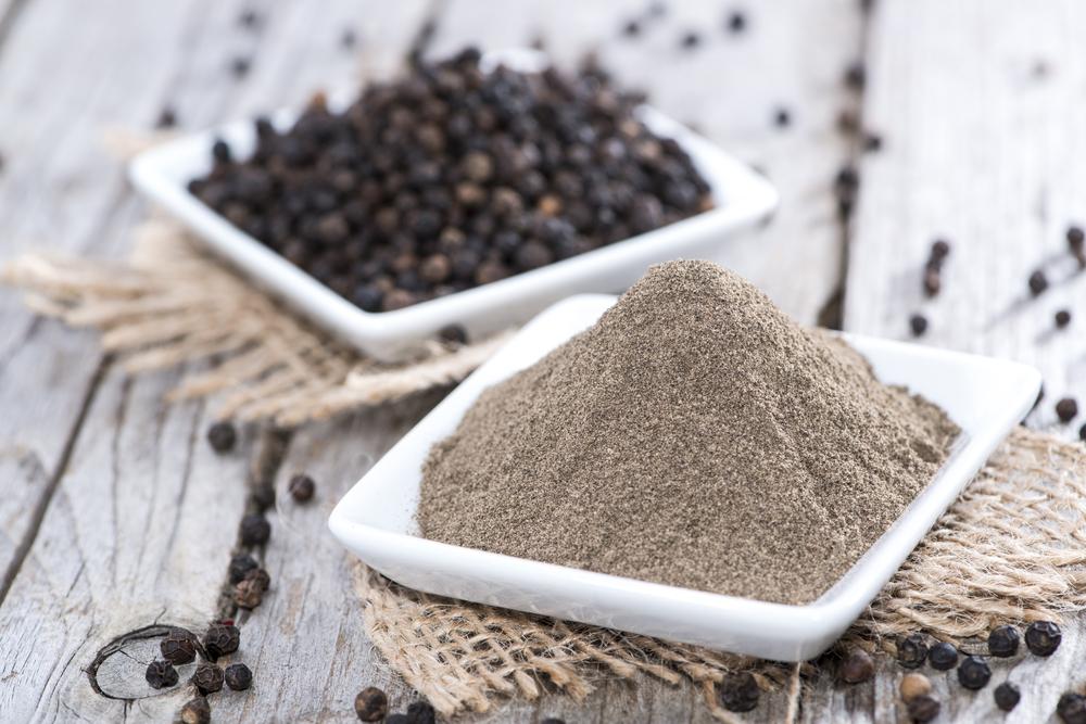 spezie brucia- grassi: pepe nero