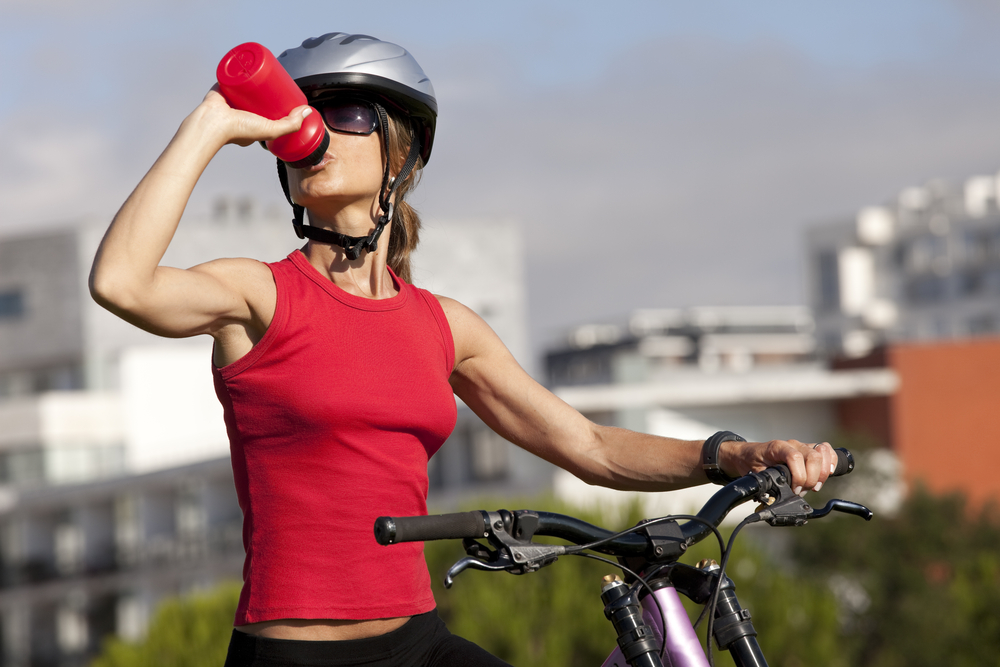 sport quando fa caldo: quanto bere