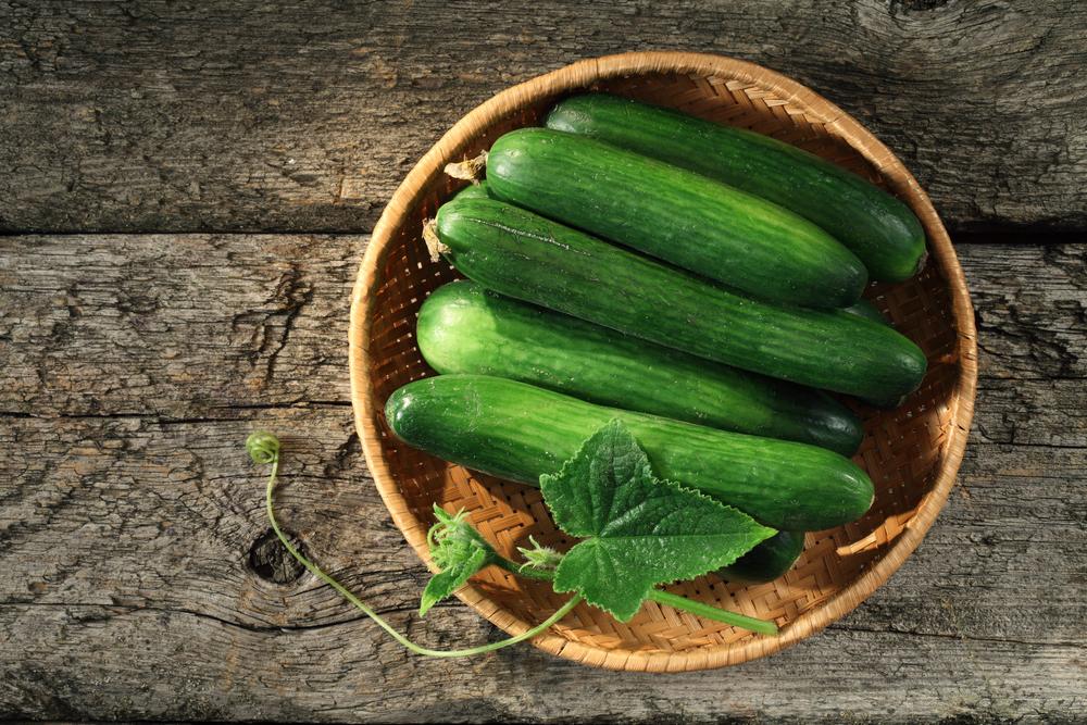 verdure luglio, cetrioli