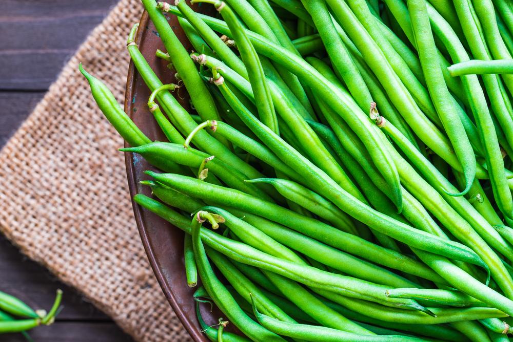 verdure luglio, fagiolini
