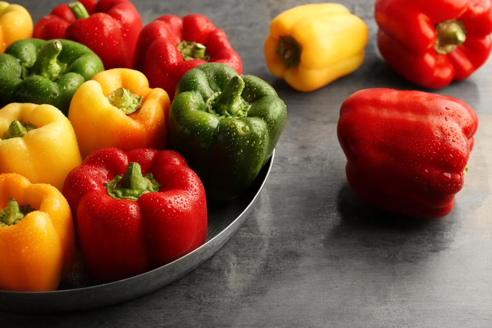 verdura luglio, peperoni