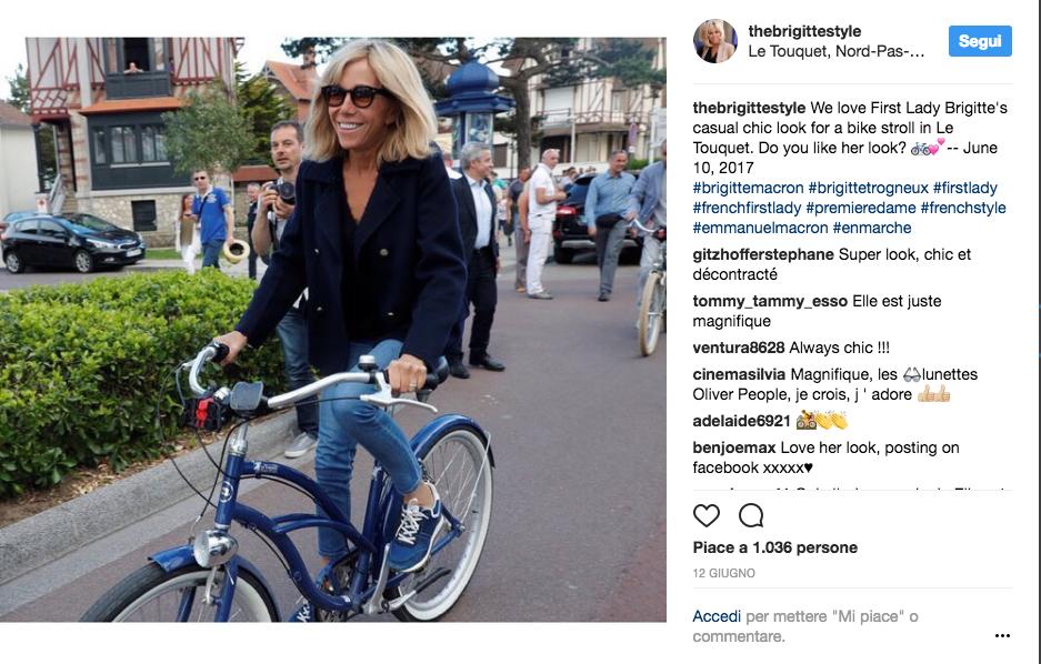 Brigitte Macron, gli sport per tenersi in forma