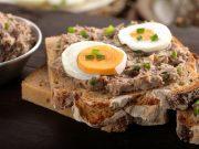 Ricetta crostini con mousse di tonno