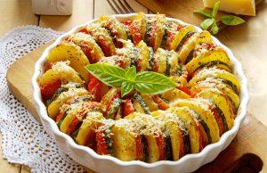 Peperoni, melanzane, zucchine