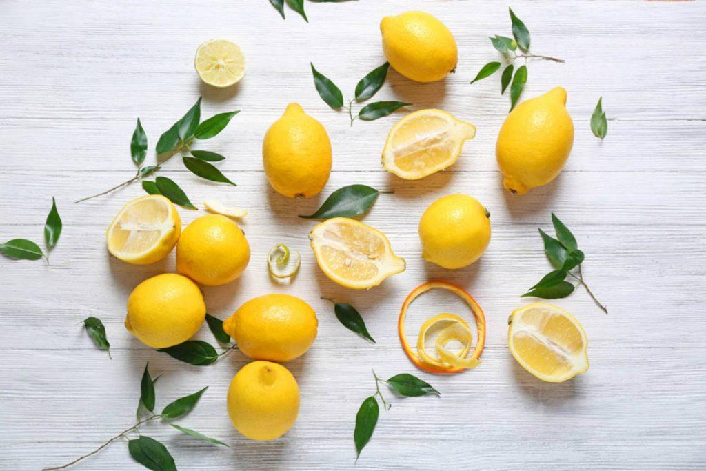 acque aromatizzate, limone