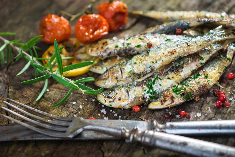 cibi per non ingrassare d'estate, le sardine