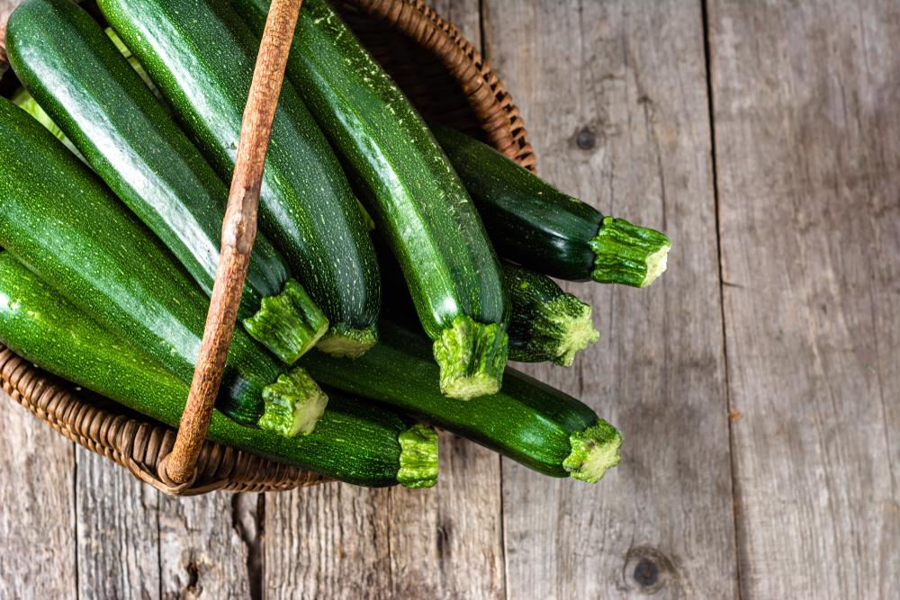 cibi per non ingrassare d'estate, le zucchine