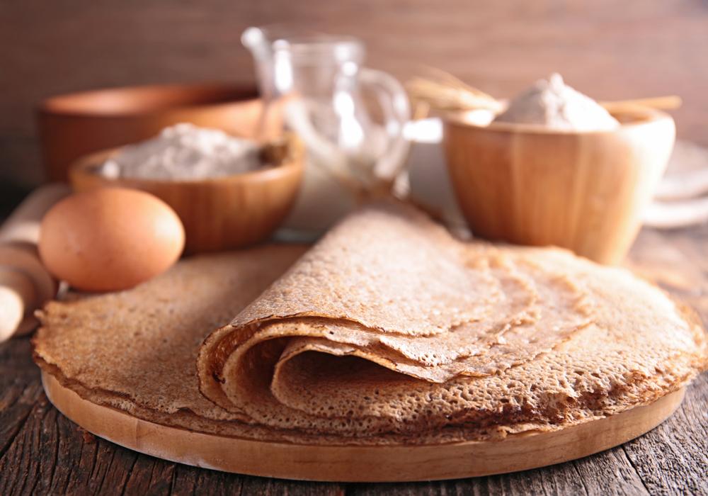 Crespelle di grano saraceno: una ricetta sana e gustosa, adatto ai celiaci.