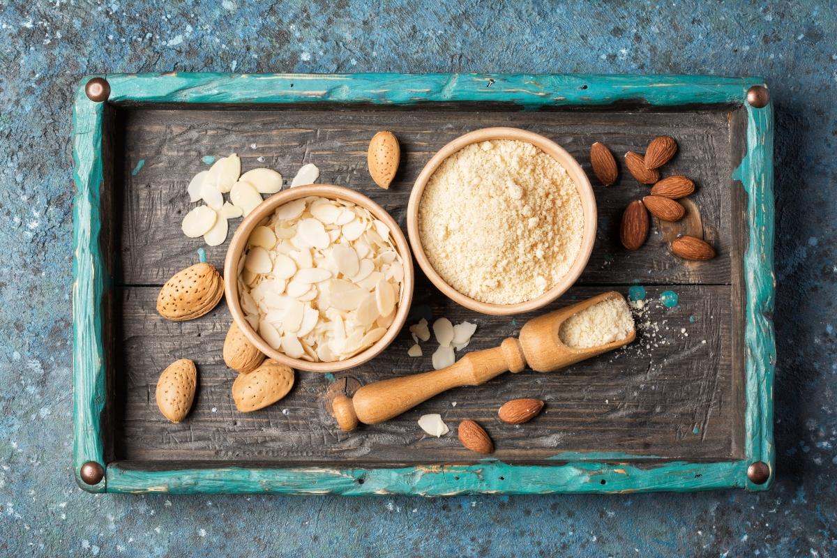 alimenti ricchi di antiossidanti: mandorle