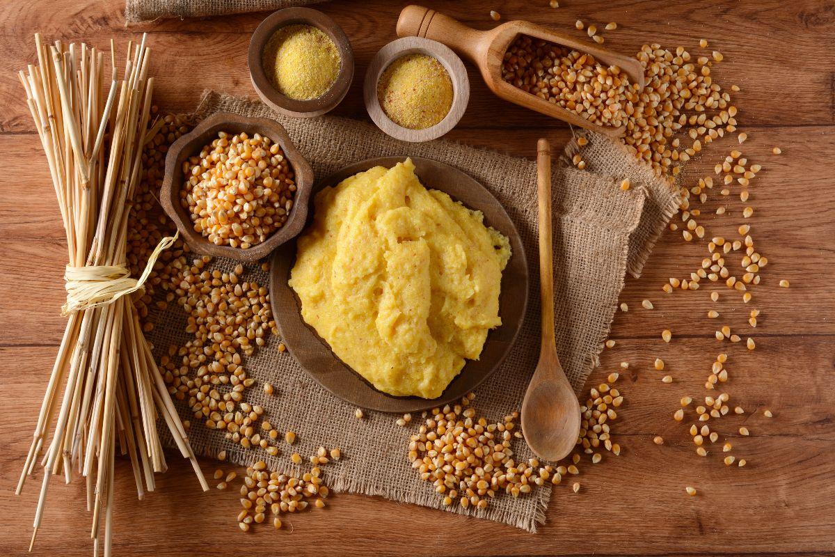 farina di polenta