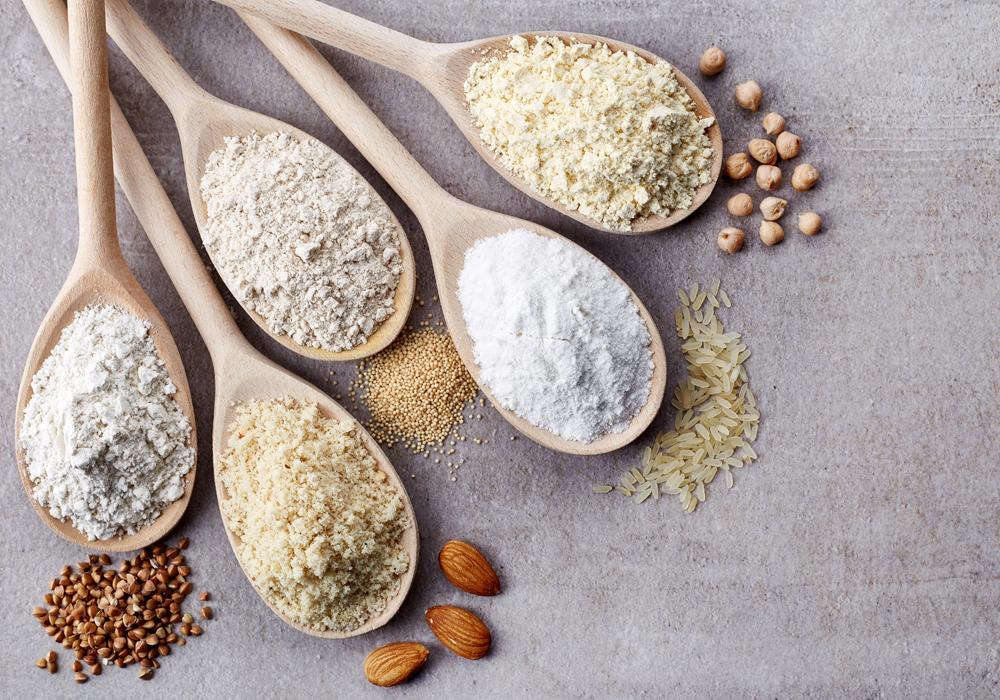 Le farine senza glutine, le proprietà nutrizionali e gli usi in cucina.
