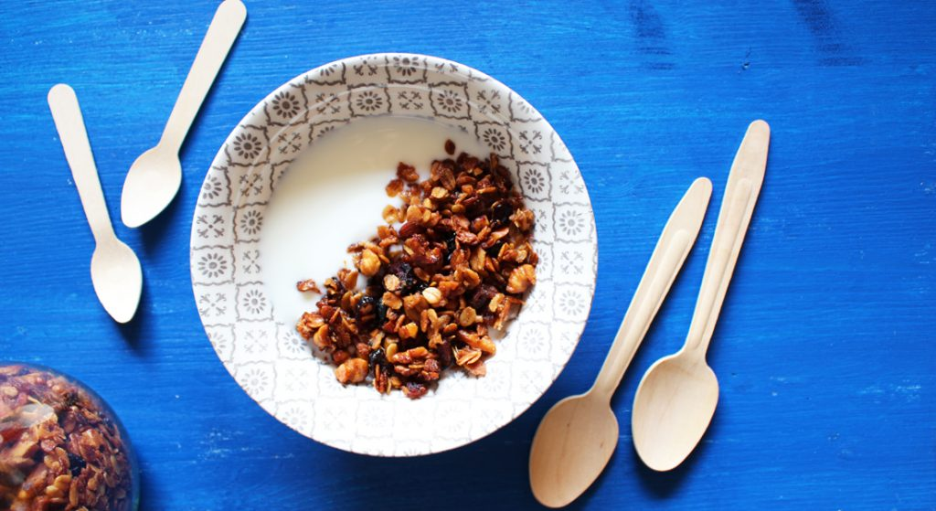 granola di fiocchi d'avena