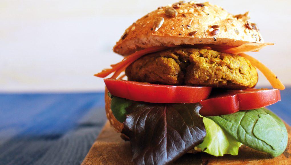 Hamburger di ceci e lenticchie