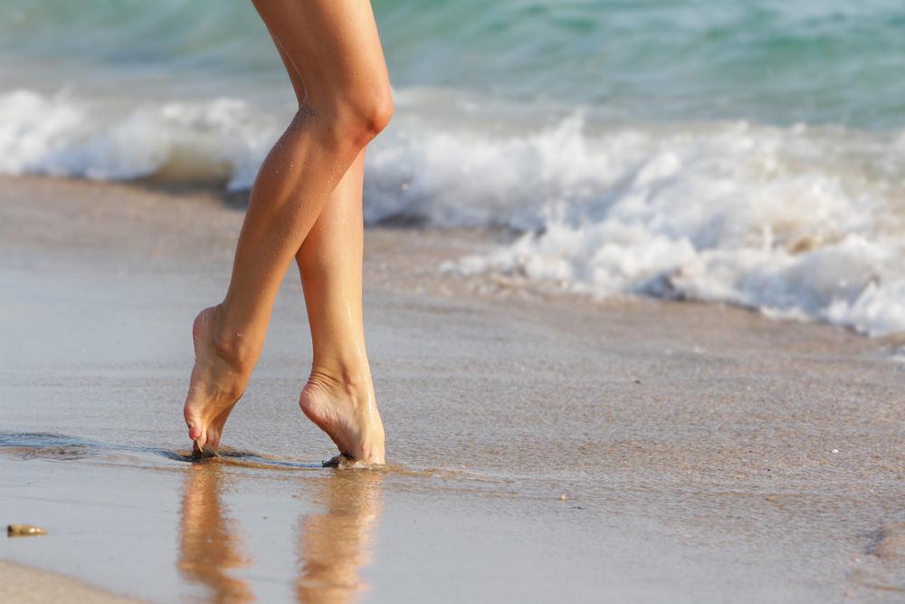 i benefici del mare per un corpo più tonico