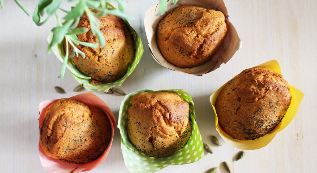 ricette biscotti di natale: muffin alle mandorle