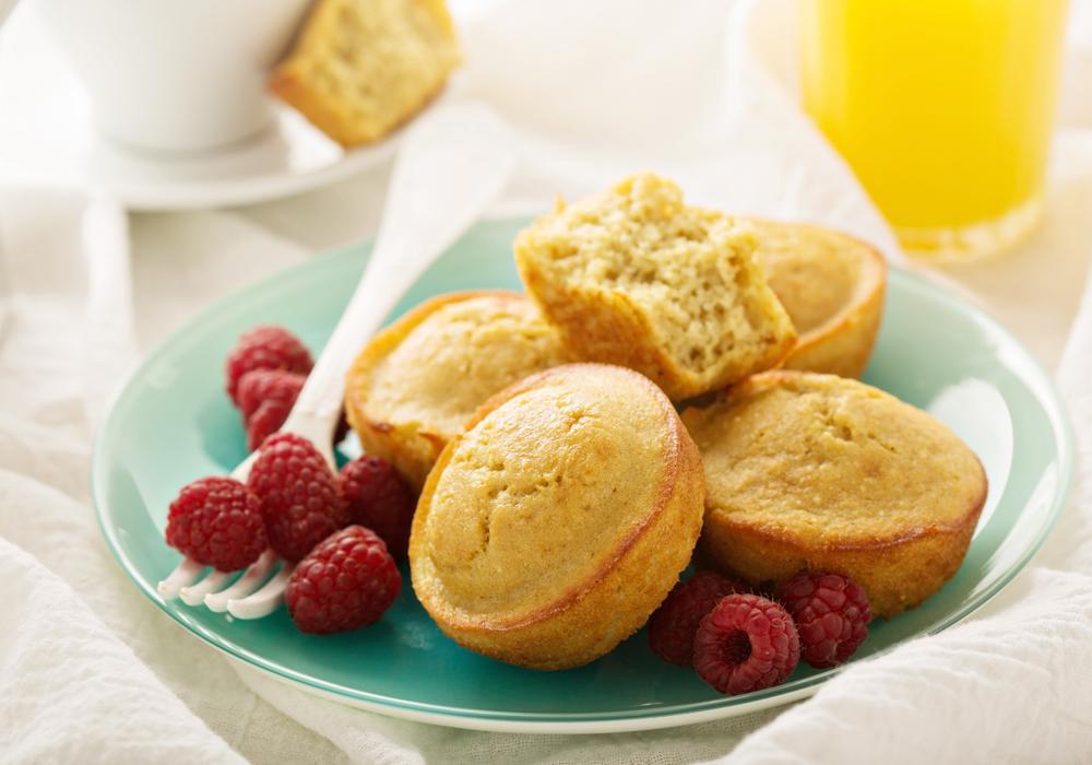Farina di quinoa: ottima per muffin, pancakes e pane senza glutine.