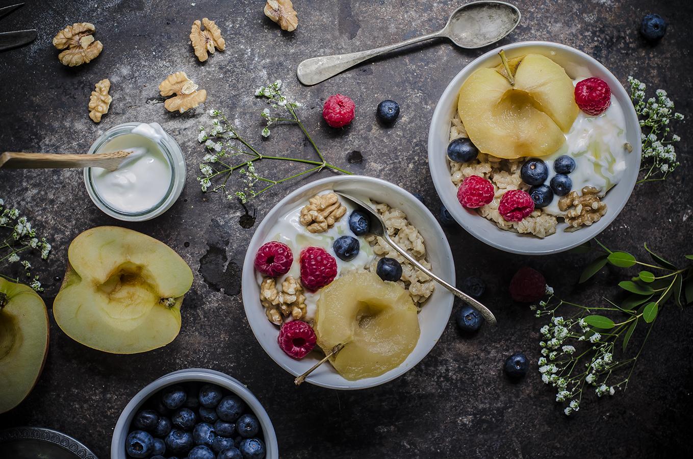 porridge, la ricetta light per una sana colazione