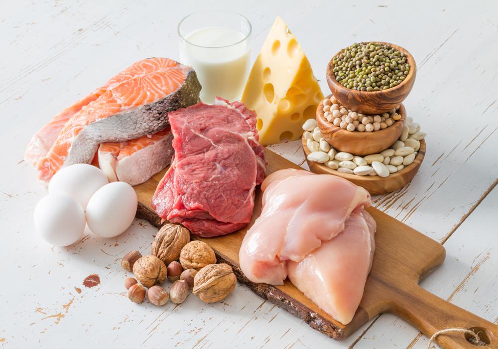 Le proteine sono molto importanti quando si segue una dieta gluten free.