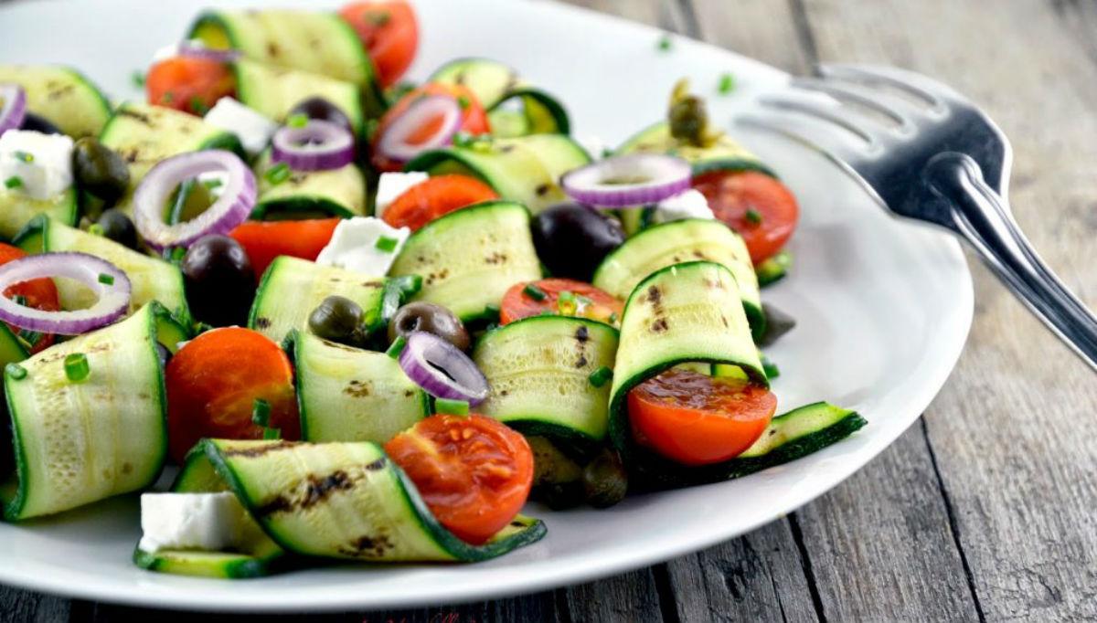 ricette con zucchine: il carpaccio