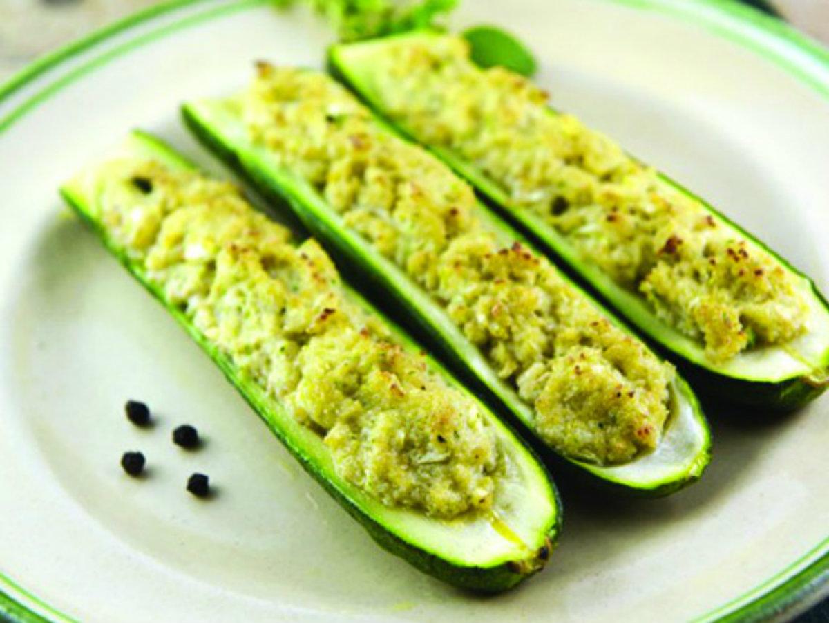 ricette con zucchine, come farle ripiene al forno