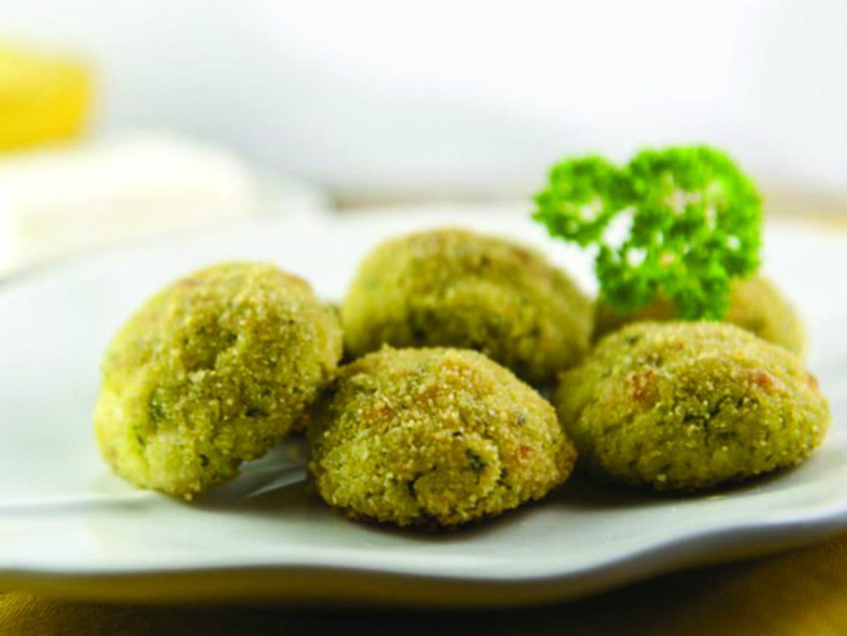 ricette con zucchine, polpettine miglio e zucchine