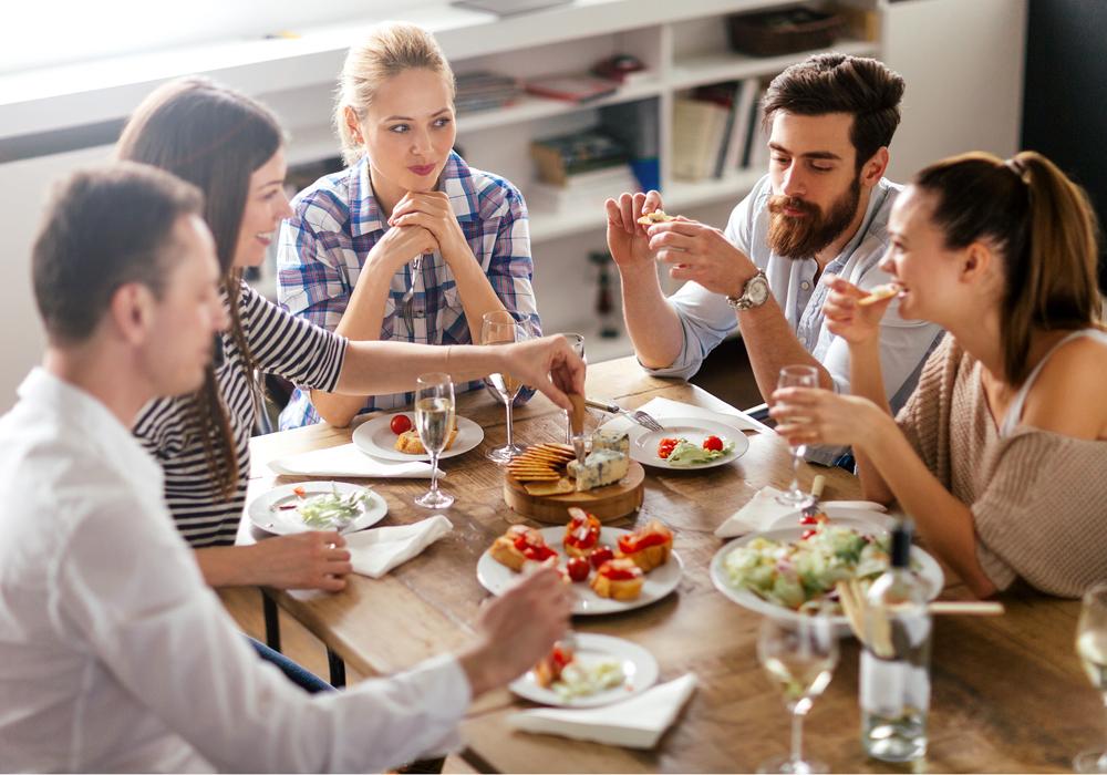 I consigli per affrontare senza problemi la vita sociale senza glutine.