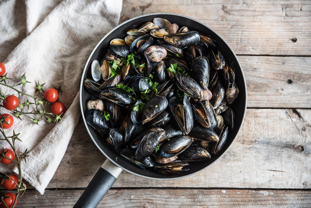 zuppa di pesce preparazione