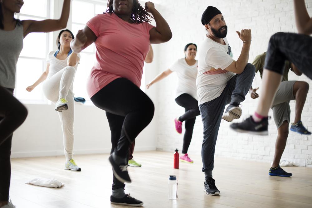 aerobica base : lezione adatta a tutte le età
