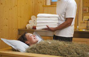 bagni di fieno: trattamento bellezza contro stress