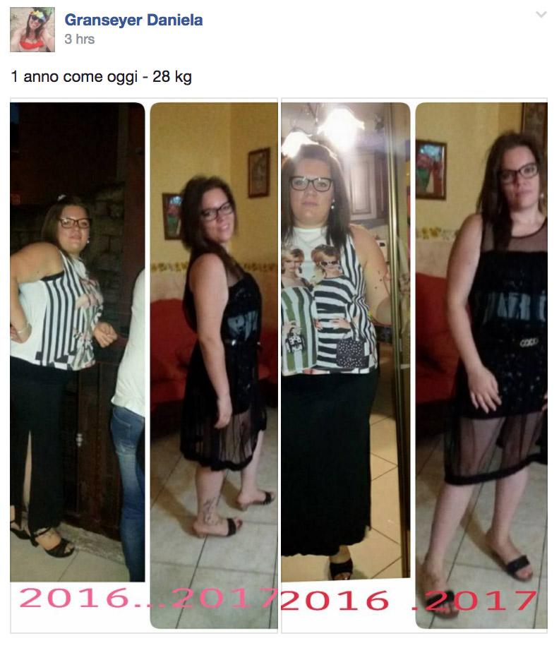 dieta melarossa daniela 28 kg