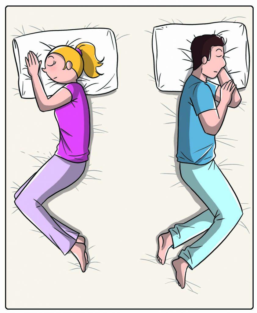 Scopri che coppia sei da come dormi: direzioni opposte