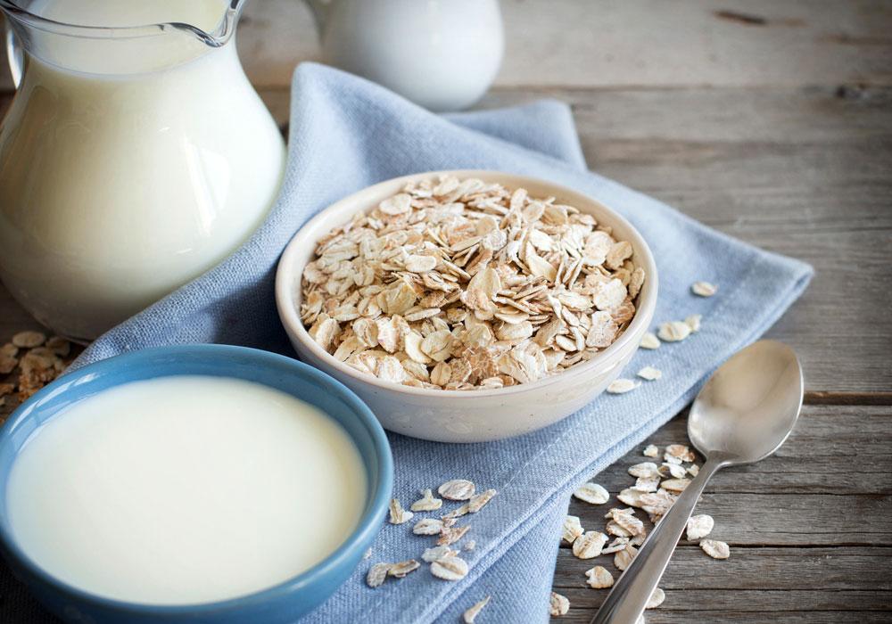 I fiocchi di avena senza glutine sono perfetti per la colazione dei celiaci.