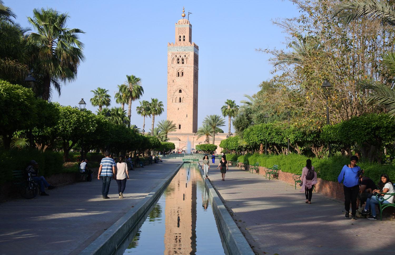 Marrakesh Giardini della Koutoubia