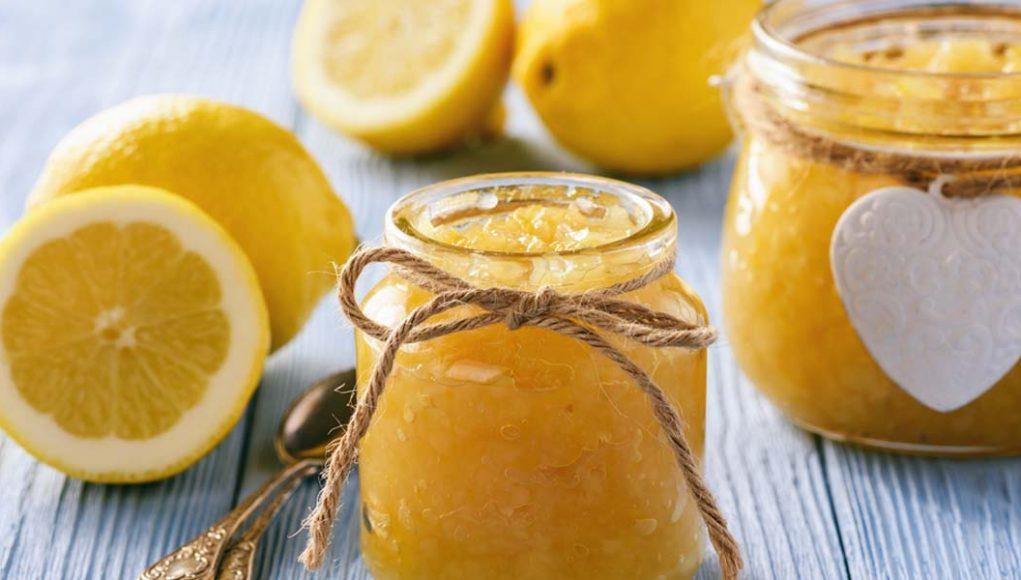 marmellata di limoni di Sorrento, la ricetta light
