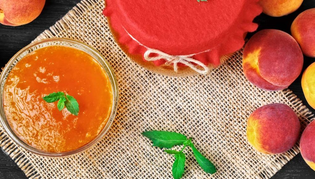 marmellata di pesche noci, la ricetta light