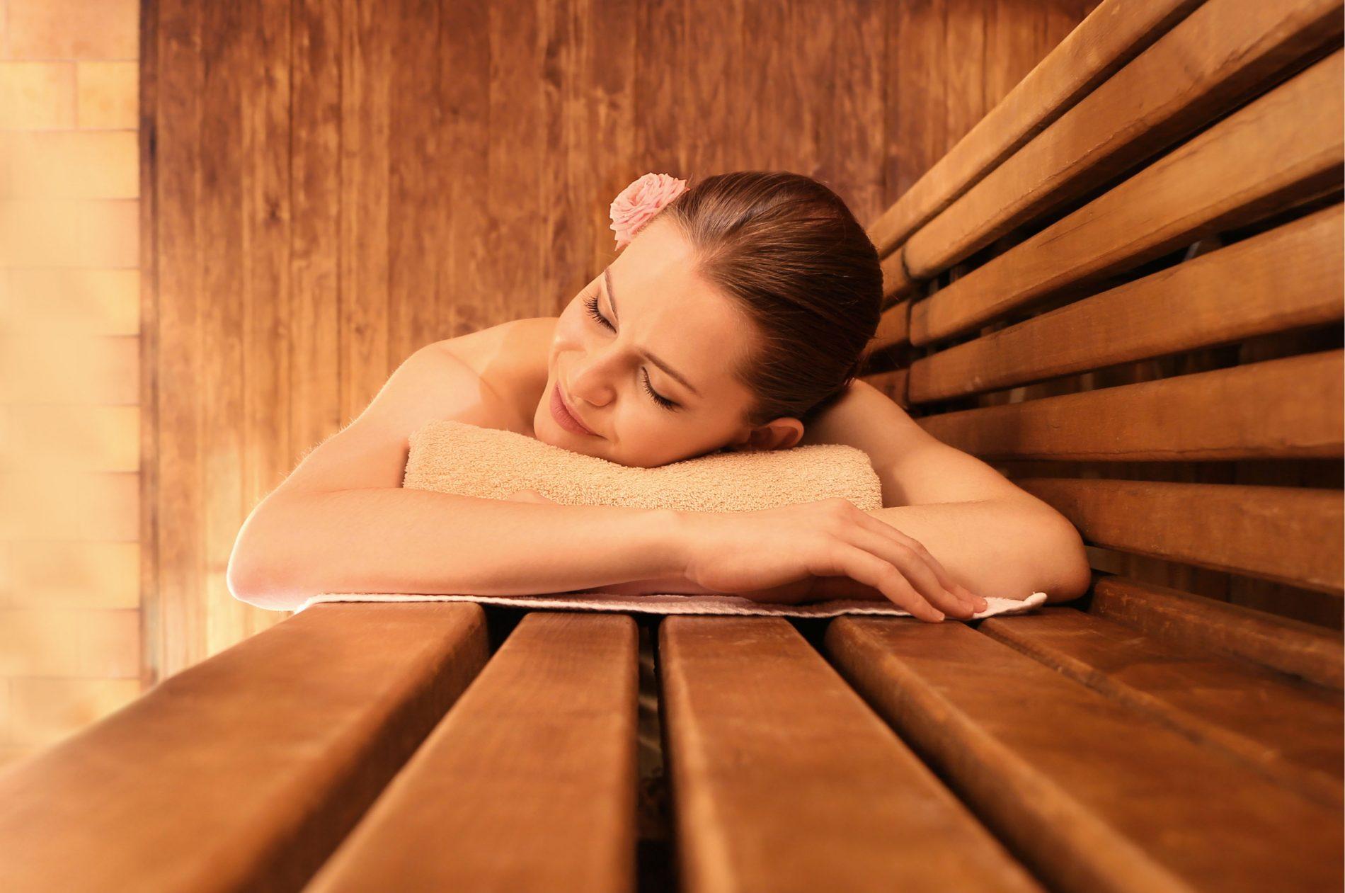fai una sauna per ritrovare l'energia perduta
