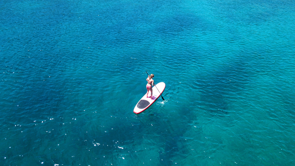 stand up paddle: tecnica per iniziare